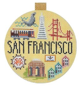 Canvas TRAVEL ROUND - SAN FRANCISCO<br /> KB1264