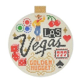 Canvas TRAVEL ROUND - LAS VEGAS<br /> KB1318