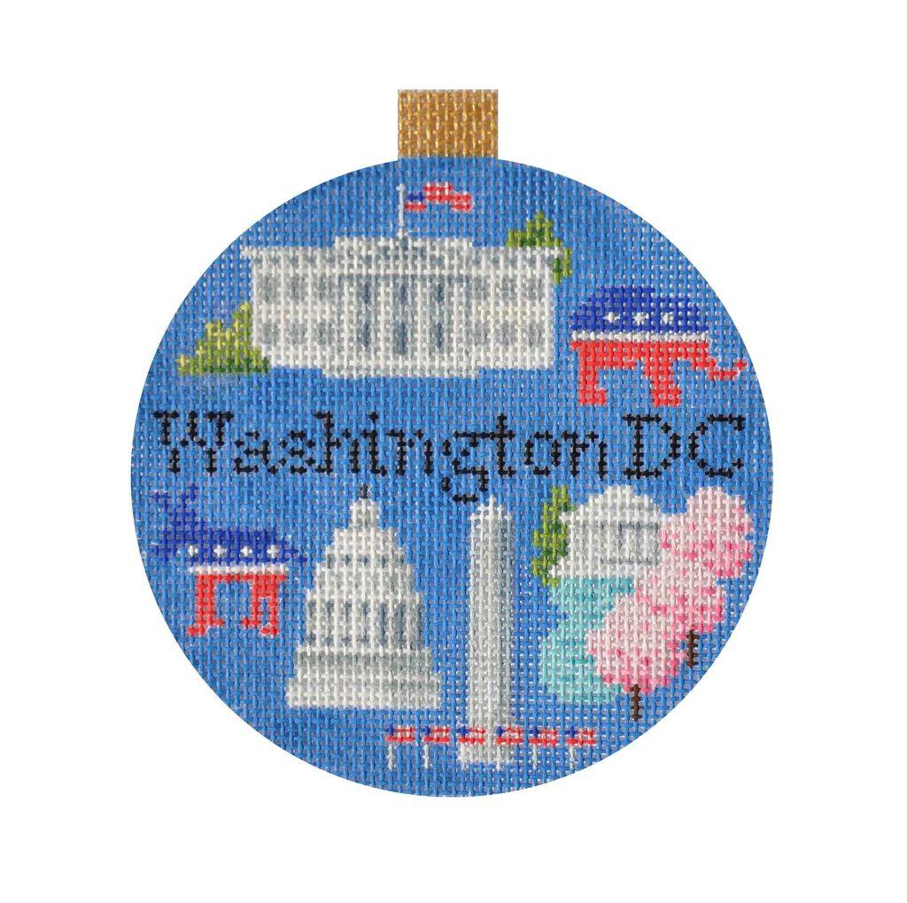 Canvas TRAVEL ROUND - WASHINGTON DC<br /> KB1289