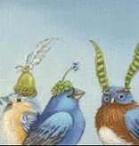 Canvas BIRDS OF BLUE  VS170