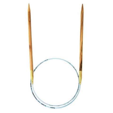 "Needles ADDI OLIVE WOOD #3 40"""