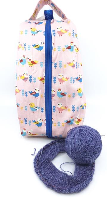 Accessories LARGE BOX BAG - FABRIC PRINCE CATS
