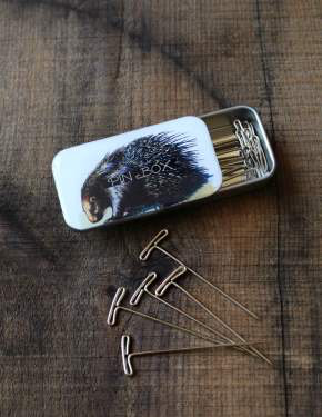 Accessories PORCUPINE PIN TIN
