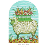 Canvas DAISY LAMB  J211C