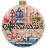 Canvas TRAVEL ROUND - AMSTERDAM  KB1365