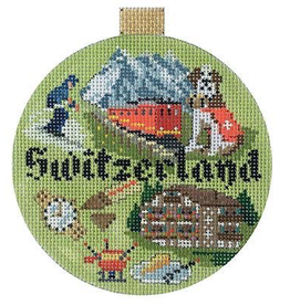 Canvas TRAVEL ROUND - SWITZERLANS  KB1406