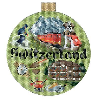 Canvas TRAVEL ROUND - SWITZERLANS  KB1406