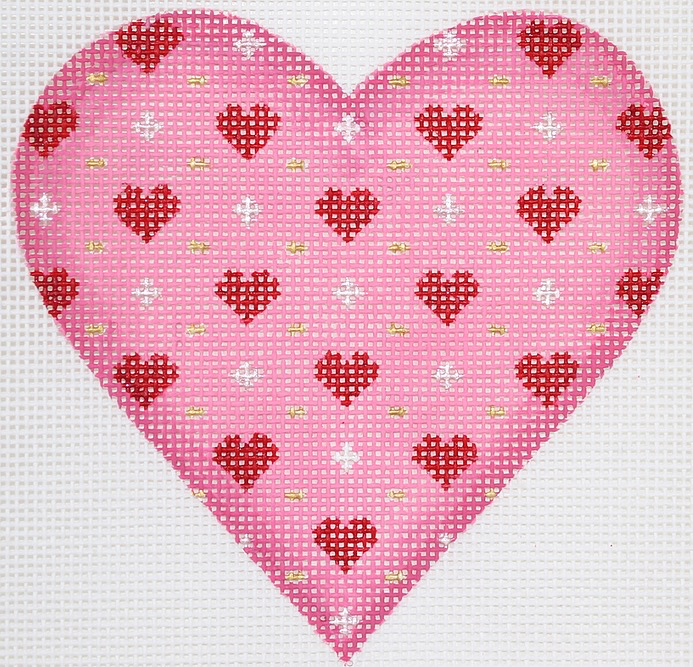 Canvas VALENTINE MINI HEART  OM250