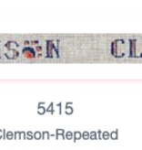 Canvas ANY SCHOOL  - CLEMSON 5415