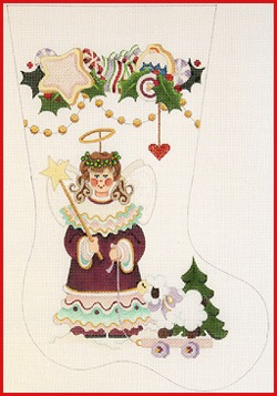 Canvas ANGEL STOCKING  CS1132