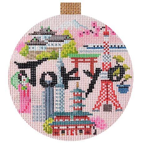 Canvas TRAVEL ROUND- TOKYO<br />  KB1486