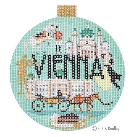 Canvas TRAVEL ROUND- VIENNA<br />  KB1407