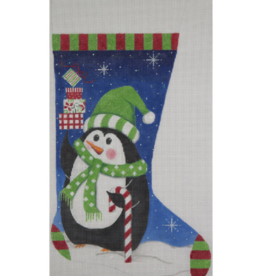 Canvas PENGUIN GIFTS STOCKING 2436