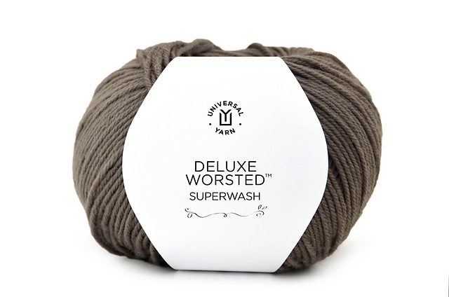 Yarn DELUXE WORSTED 100% WOOL SUPERWASH