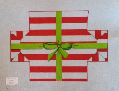 Canvas CHRISTMAS PRESENT BRICK COVER  BC06