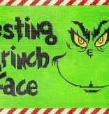 Canvas RESTING GRINCH FACE  APCH11