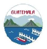 Canvas GUATAMALA TRAVEL ROUND  BT855