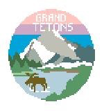 Canvas GRAND TETONS TRAVEL ROUND  BT632