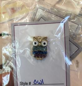 Accessories NEEDLE MINDER - ENAMEL OWL
