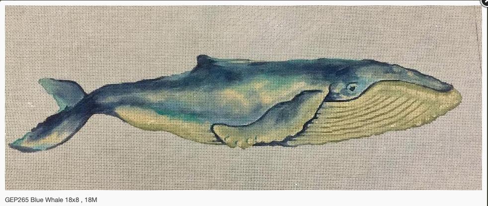 Canvas BLUE WHALE  P265