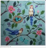Canvas BIRD PILLOW  P239