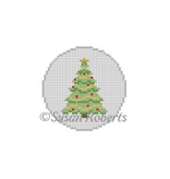 Canvas CHRISTMAS TREE ROUND  5905