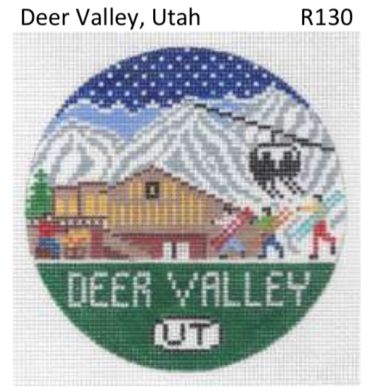 Canvas DEER VALLEY ROUND R130