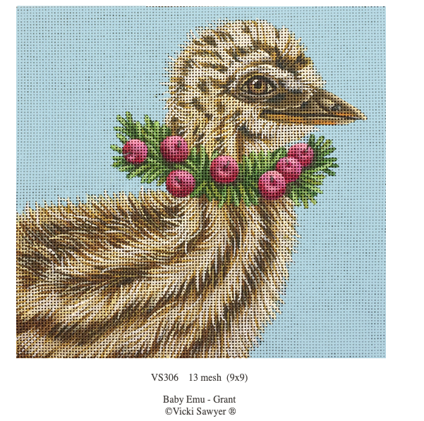 Canvas BABY EMU GRANT  VS306