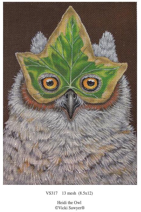 Canvas HEIDI THE OWL   VS317
