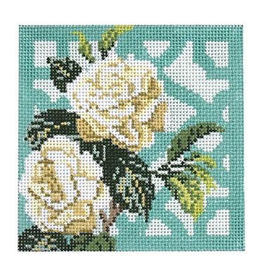 Canvas TRELLIS COASTER - GARDENIA  KB1296