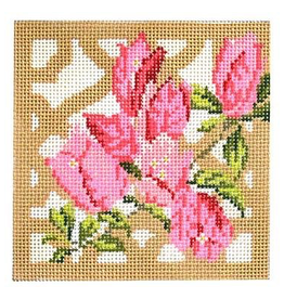 Canvas TRELLIS COASTER - BOUGAINVILLEA  KB1297