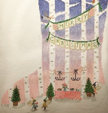 Canvas FAIRY LITTLE CHRISTMAS  19C