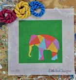 Canvas ANIMAL SILHOUETTE ELEPHANT  AS0001