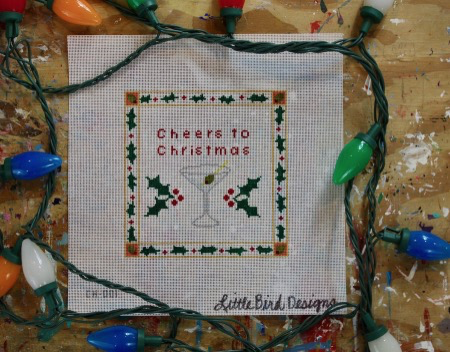 Canvas CHEERS TO CHRISTMAS  CH001