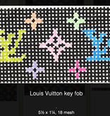 Canvas LOUIS VUITTON LV KEY FOB  KF40