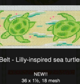 Canvas LILLY INSPIRED SEA TURTLES  BL49