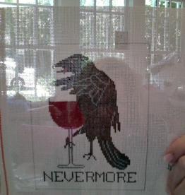 Canvas NEVERMORE WINE  SI500W