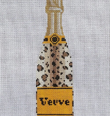 Canvas VEUVE BOTTLE - LEOPARD