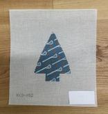 Canvas LACROSSE TREE ORNAMENT  KCD1150