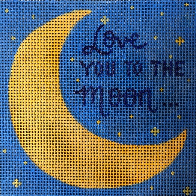 Canvas LOVE YOU TO THE MOON  ME35