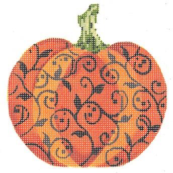 Canvas IHALLOWEEN SCROLL PUMPKIN  KCKCN1564