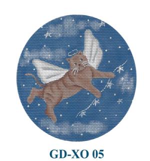 Canvas ANGEL CAT  GDXO05