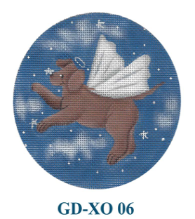 Canvas ANGEL DOG  GDXO06
