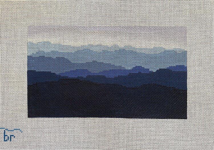 Canvas BLUE RIDGE MOUNTAIN RANGE  P1