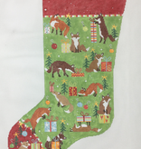 Canvas FOX STOCKING  PCH012