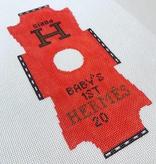Canvas BABY ONESIE HERMES BFC10