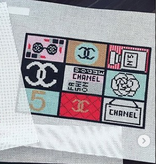 Canvas EVERTHING CHANEL SMALL FLAT  SF08A