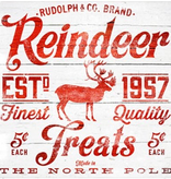 Canvas REINDEER TREATS TCSF704