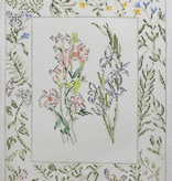 Canvas TEXAS BLUEBELLS AND GLADIOLUS  RS1