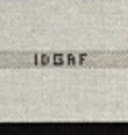 Canvas SKINNY CUFF BRACELET - IDGAF<br /> INCLUDES SILVER CUFF  HARDWARE  SC12